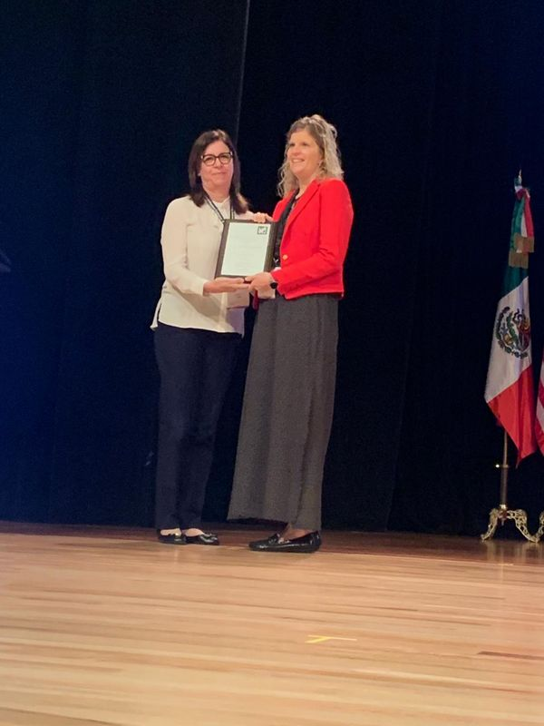 The Columbus School in Medellin, Colombia Awarded in 2019 with the Tri-Association Community Service Award